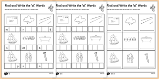 So far you can see we have a variety of sets of worksheets that deal with beginning sounds and phonics is obviously an important early developmental skill for children to start learning and our worksheets can help kids learn phonics. Ai Worksheets Primary Resources Phonics Teacher Made