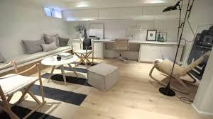 Interior Design  Modern Scandinavian-Inspired Bright Basement Renovation