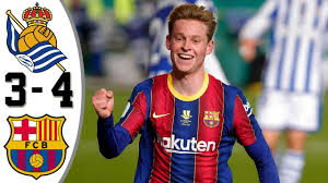 Реал Сосьедад - Барселона | Обзор матча - YouTube