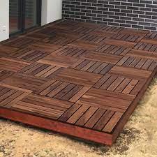 interlocking decking tiles for