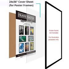 Amazon Com Icona Bay Flexible Clear Plastic Sheet 24x36 Inch 2