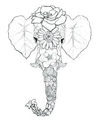 Pin By Pu On Cute Baby Elephant Coloring Pages Elephants And Babies