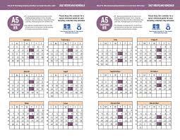 Residential Holiday Schedule St Petersburg