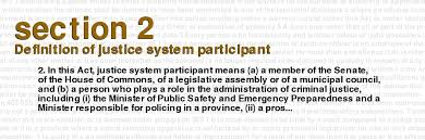Criminal Justice Definition Criminal Code Of Canada Section 2 Definition Of Justice System