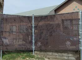 Perfect Chain Link Fence Slats Galvanized With Privacy And Decorating Ideas