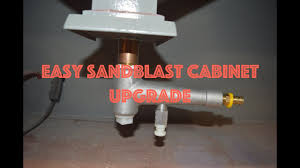 easy syphon upgrade for your sandblast