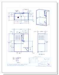 cad drawings aquatic 1623sttx 60 gelcoat barrier free shower smooth tile