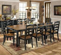ashley furniture dining table with bench furniture farmhouse table full size of round dining room sets