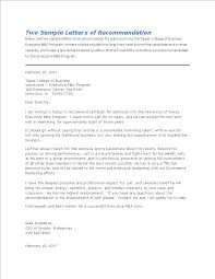 Letter Recommendation For Student College Recommendation Letter For Student Templates At