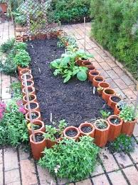 raised garden beds from old terracotta pipes diy flower easy