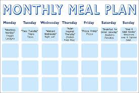 Daphne Ozs Meal Planning Calendar The Dr Oz Show