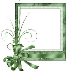 Cute Green Transparent Frame With Bow Gallery Yopriceville High