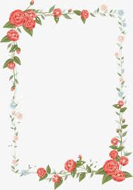 frame design. Floral Border Design Vector, Graphic Design, Frame, Flowers And Trees PNG Image Frame