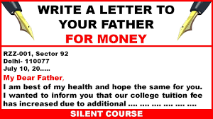 Write A Letter To Your Father For Money Youtube