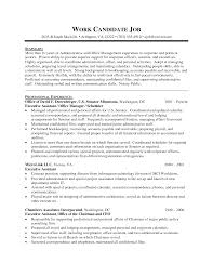 Extraordinary Resumes For Executive Assistants About Medical