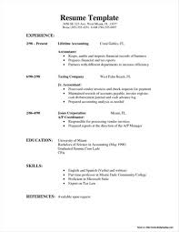 Simple Resume Sample Format Philippines Resume Resume Examples