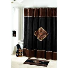 Maroon Bathroom Accessories Mojave Shower Curtain And Rug Avanti Home
