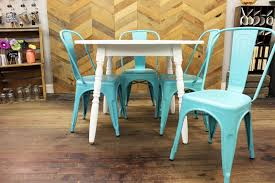white metal furniture. White Round Kitchen Table With Blue Metal Chairs Chair Detail Furniture .