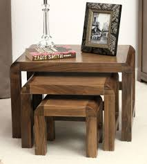 Walnut Furniture Living Room Shiro Walnut Coffee Tables Ebay