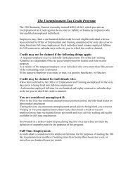 Kentucky department of insurance, frankfort, kentucky. Unemployment Insurance Trust Fund Office Of Employment And