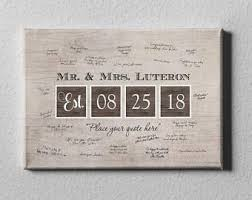 wedding date canvas etsy Wedding Date On Canvas date wedding canvas guest book, wedding date canvas