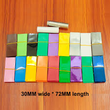 <b>100pcs</b>/<b>lot Lithium battery</b> packaging shrink film 18650 battery ...