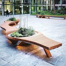 design planter box bench
