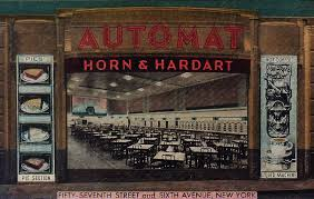Vending Machine Restaurant Nyc Interesting Horn And Hardart Automats Redefining Lunchtime Dining On A Dime