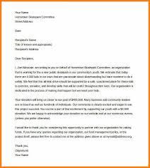 Solicitation Letter For Donation Sample Rome Fontanacountryinn Com