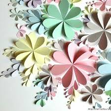 Tissue Paper Flower Wall Art Flower Wall Hanging 3d Flower Wall Art Baby Girl Nursery Etsy Floral