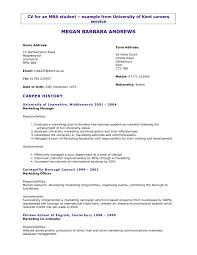 Resume Examples Uk Free Resume Templates General Cv Examples Uk Sample For Teachers 11