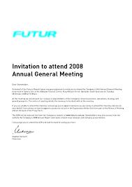 Formal Business Invitation Wording Meeting Invitation Templates Business Sample Formal Letter