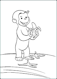 Curious George Pictures To Color J1394 Free Curious Coloring Pages