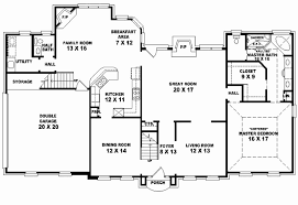 Simple 4 bedroom floor plans inspirational 4 bed 4 bath house plans home decorating ideas flockee