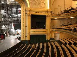 Hudson Theatre Seating 2019