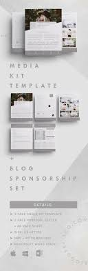 sales kit template pin on media kit templates tips