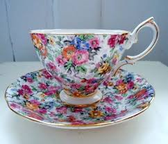 Decorative Cup And Saucer Holders 100 best Cup Saucer Displays images on Pinterest Tea time 27
