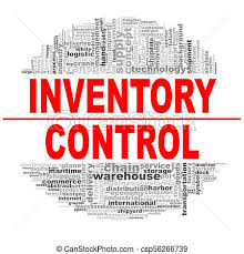 Word Inventory Inventory Control Word Cloud
