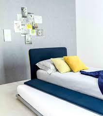 Blue Color Bed