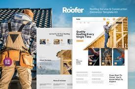 Roofer – Roofing Service & Construction Elementor Template Kit by deTheme