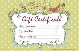 Word Gift Card Template 30 Blank Gift Certificate Templates Doc Pdf Free Premium