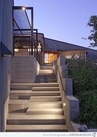 Incredible Front Staircase Design 15 Concrete Exterior Staircase Design  Home Design Lover