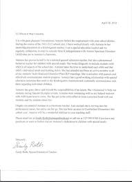 Sample Recommendation Letter For Special Education Teacher   Cover ...