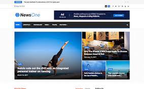Newsone News Magazine Html5 Template