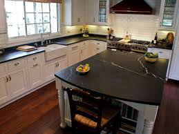 soapstone counter surfaces chemicals and acids do not harm it however we do recommend that you use regular soap and water because harsher solvents