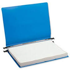 Print Binder Q Connect Kf11018 Print Out Binder 260x305mm Pack Of 6 Blue