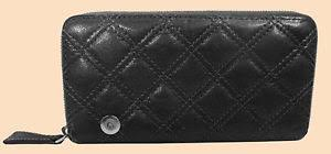 MARC Marc Jacobs THE DELUXE Grey Quilted Leather Zip Around Wallet ... & Image is loading MARC-Marc-Jacobs-THE-DELUXE-Grey-Quilted-Leather- Adamdwight.com