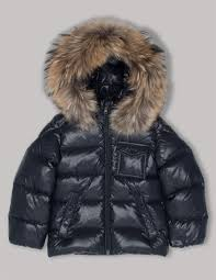 Moncler Baby Boys Navy K2 Hooded Down Jacket   Stone Menswear