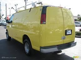1999 Yellow Chevrolet Express 3500 Commercial Van #55757162 Photo ...
