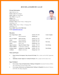 Blank Cv Template Word With Cv Format Pdf Or Word And Lottery